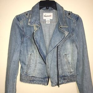 Distressed Jeans jacket